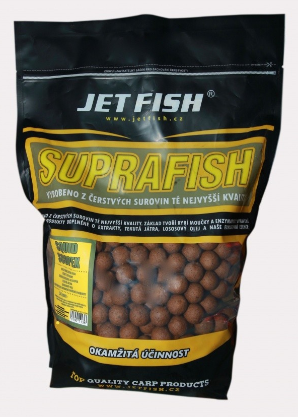 SUPRA FISH BOILIE 20mm/1kg - scopex/squid