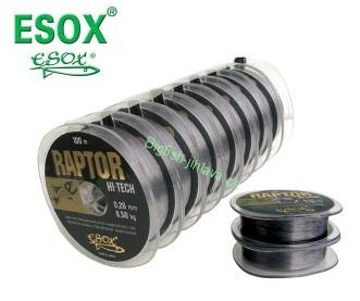 Vlasec ESOX RAPTOR HI-TECH - 0,22mm/100m/6,40kg
