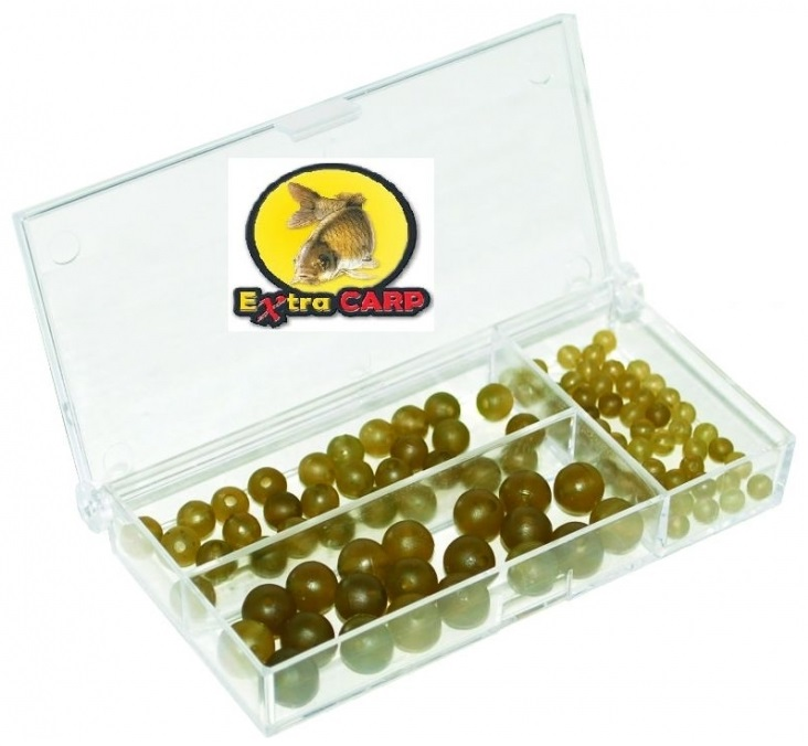 Extra Carp Rubber Beads Set