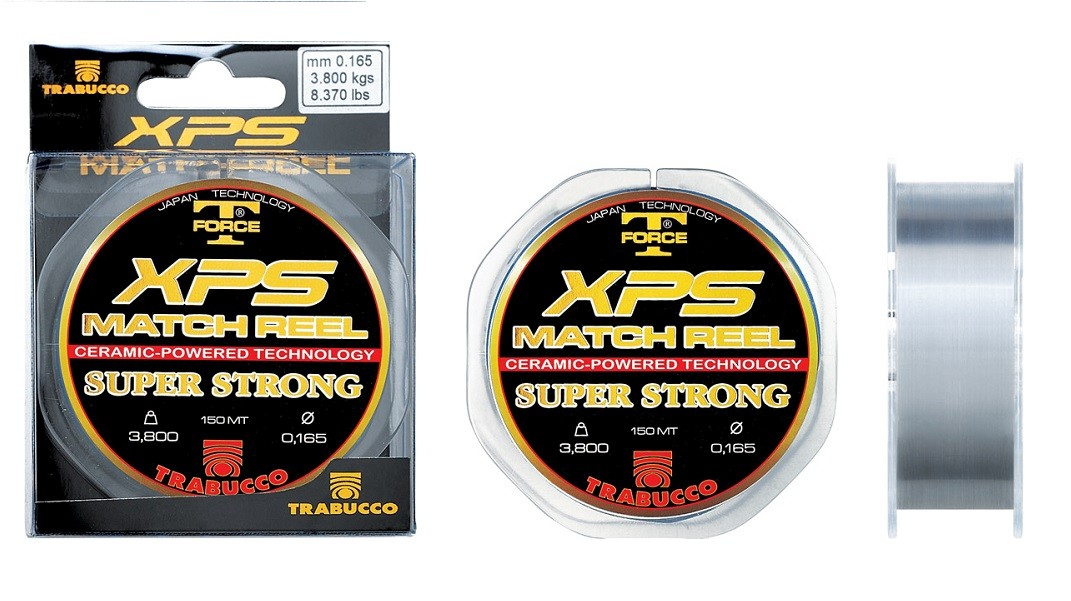 Vlasec T-Force XPS Match Reel 0,165mm/150m/3,80kg