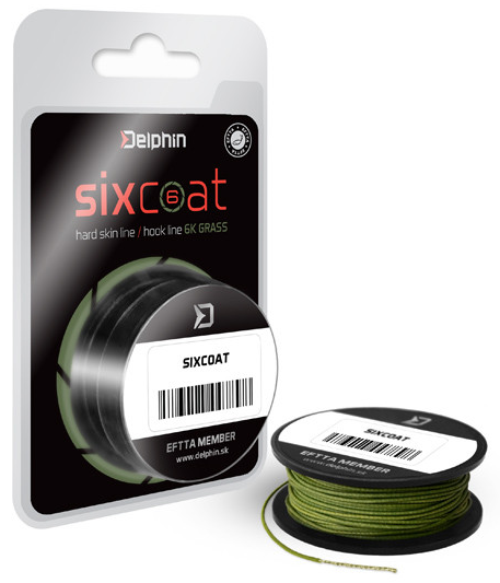 Skin Line Delphin SIXCOAT/grass 5m/25lbs