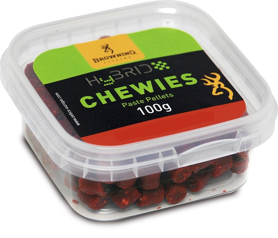 Pelety Browning Hybrit Chewies - 12mm/100g - Cheese