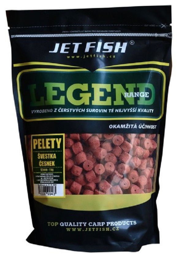 PELETY LEGEND RANGE 1kg/12mm - BIOCRAB