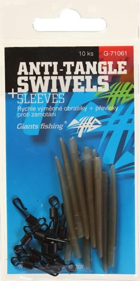 Anti tangle swivels