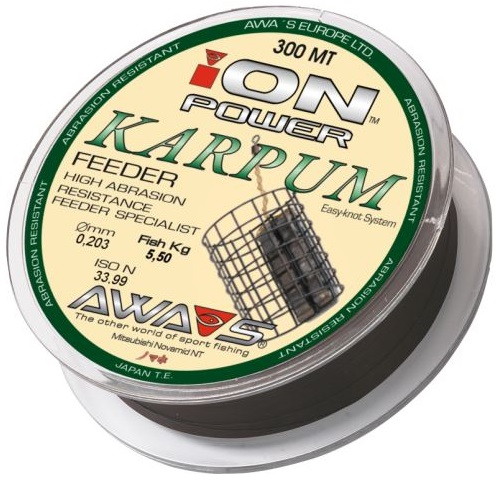 ION POWER KARPUM FEEDER 0,181mm/300m/4,60kg