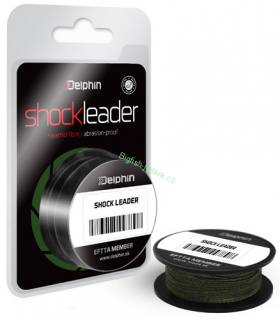 Delphin SHOCK Leader 0,24mm/20m/35lbs