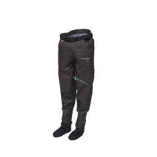 Savage - Brodící kalhoty DENIM WAIST WADERS (STOCKING FOOT) vel. L